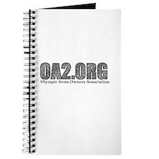 OA2 Diamond Plate Logo Journal