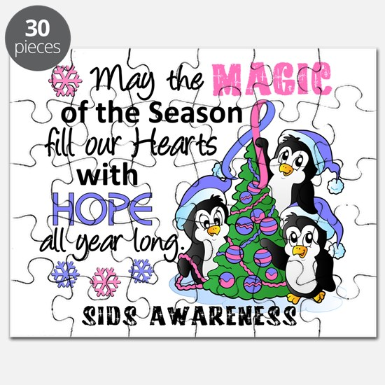 Holiday Penguins SIDS Puzzle