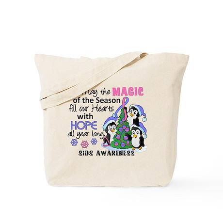 Holiday Penguins SIDS Tote Bag