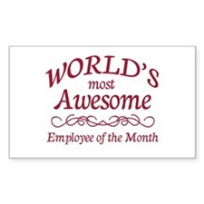 Employee of the Month Decal
