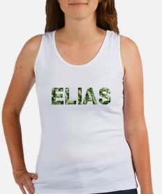 Elias, Vintage Camo, Women's Tank Top