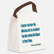 Architects and Doctors Canvas Lunch Bag