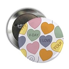 "Happy V-Day 2.25"" Button"