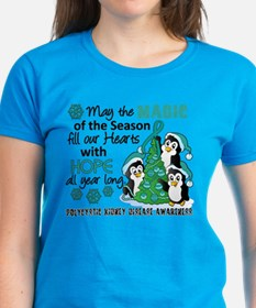 Holiday Penguins PKD Tee