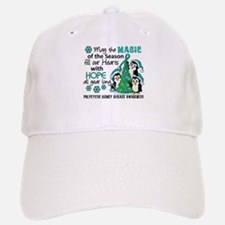 Holiday Penguins PKD Baseball Baseball Cap