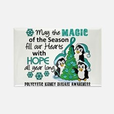Holiday Penguins PKD Rectangle Magnet