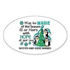 Holiday Penguins PKD Decal