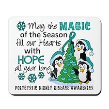 Holiday Penguins PKD Mousepad