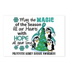 Holiday Penguins PKD Postcards (Package of 8)