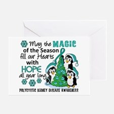 Holiday Penguins PKD Greeting Card