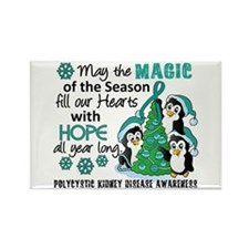 Holiday Penguins PKD Rectangle Magnet (100 pack)