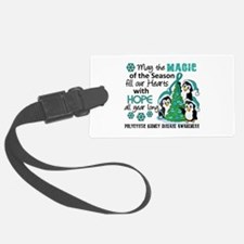 Holiday Penguins PKD Luggage Tag