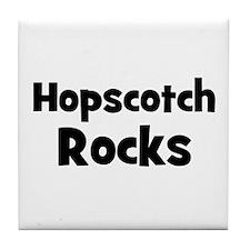 Hopscotch Rocks Tile Coaster
