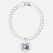 Holiday Penguins Pancreatic Cancer Bracelet