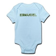 Emmanuel, Vintage Camo, Infant Bodysuit