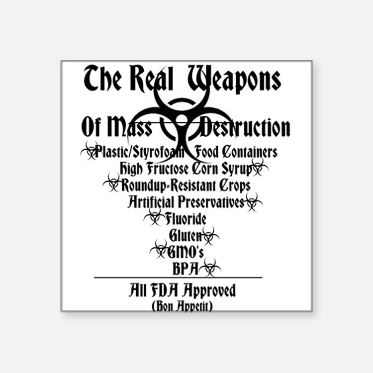 The Real Weapons Of Mass Destruction ambkev Square