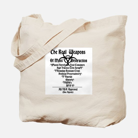 The Real Weapons Of Mass Destruction ambkev Tote B