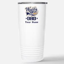DAD (WORLDS BEST) Stainless Steel Travel Mug