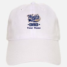 DAD (WORLDS BEST) Baseball Baseball Cap