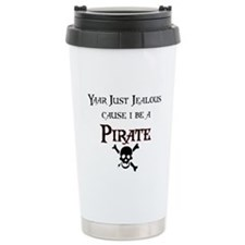 Unique Pirate Travel Mug