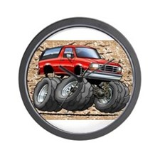 95_Red_Bronco.png Wall Clock