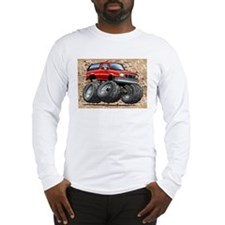 95_Red_Bronco.png Long Sleeve T-Shirt