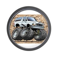 95_White_Bronco.png Wall Clock