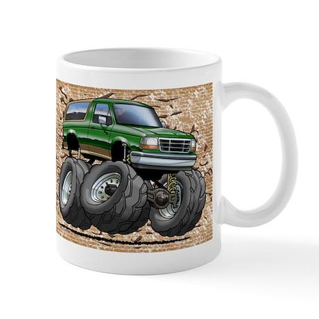 95_Green_EB_Bronco.png Mug