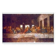 Last Supper Rectangle Decal