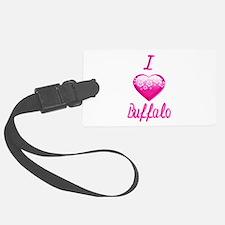 I Love/Heart Buffalo Luggage Tag