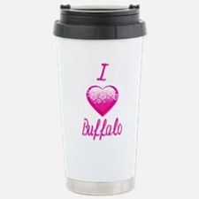 I Love/Heart Buffalo Travel Mug