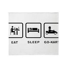 Go-Kart Throw Blanket