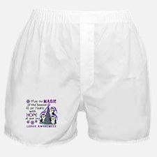 Holiday Penguins Lupus Boxer Shorts