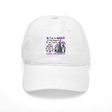 Holiday Penguins Lupus Baseball Cap