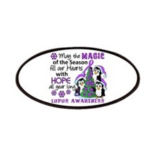 Holiday Penguins Lupus Patches
