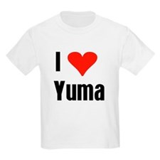 I Love Yuma Kids T-Shirt