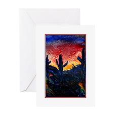 Desert! Southwest art! Greeting Card
