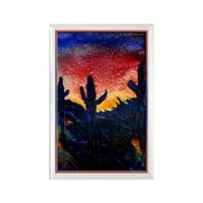 Desert! Southwest art! Rectangle Magnet