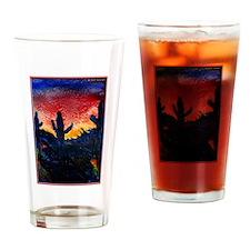 Desert! Southwest art! Drinking Glass
