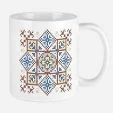Classic Cross Stitch Medallion 2 Mug