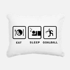 Goalball Rectangular Canvas Pillow