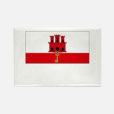 Gibraltar Flag Picture Rectangle Magnet