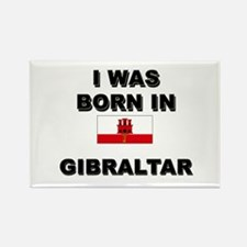 I Was Born In Gibraltar Rectangle Magnet
