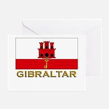 Gibraltar Flag Stuff Greeting Cards (Pk of 10)