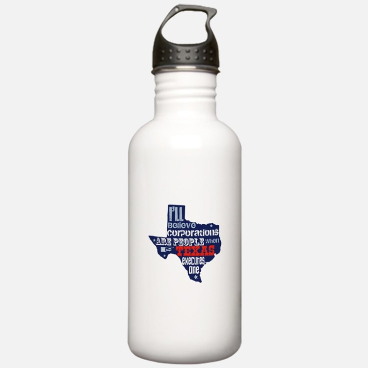 Corporations Are People Water Bottle
