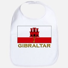 Gibraltar Flag Stuff Bib