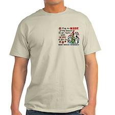 Holiday Penguins Heart Disease T-Shirt