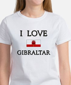 I Love Gibraltar Women's T-Shirt