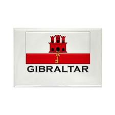 Gibraltar Flag Merchandise Rectangle Magnet