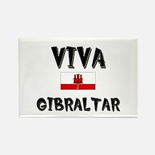 Viva Gibraltar Rectangle Magnet